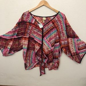 Chenault Sheer Blouse - Sz XL